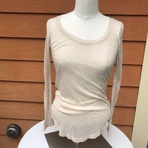 J Crew ten percent long sleeved t shirt XXS